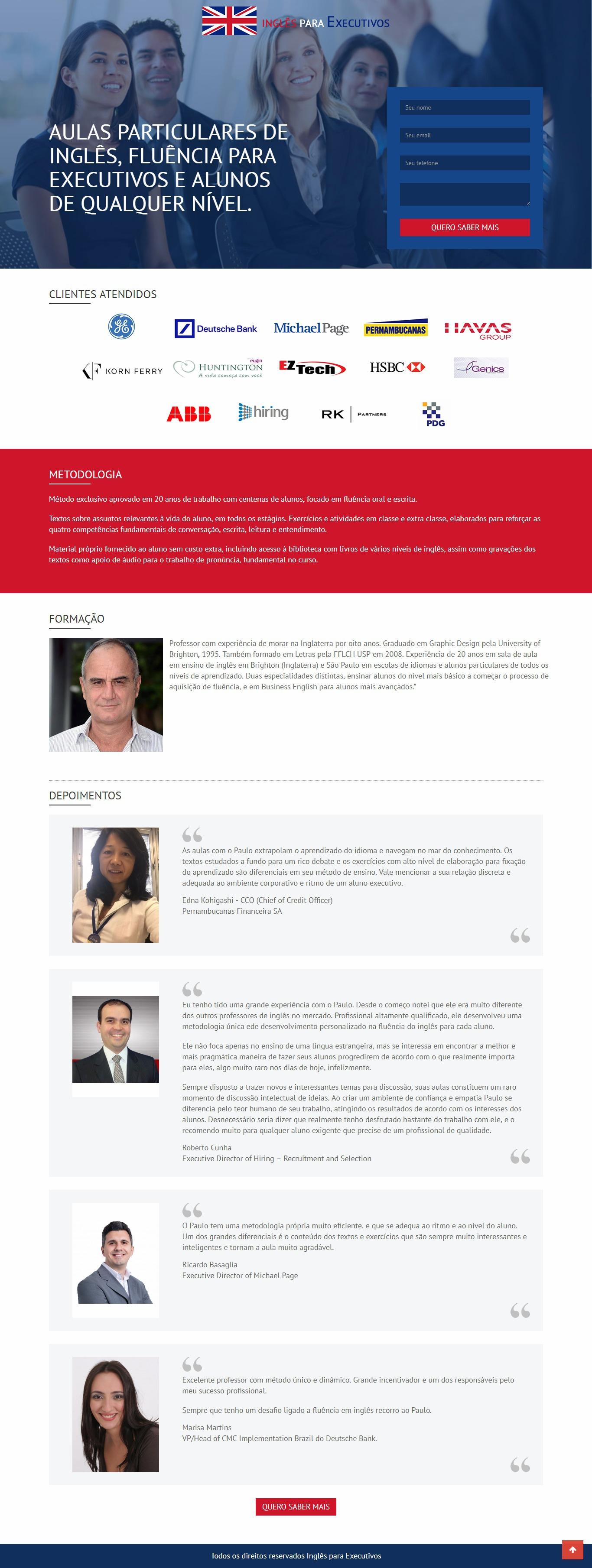 Desenvolvimento de site para IPE